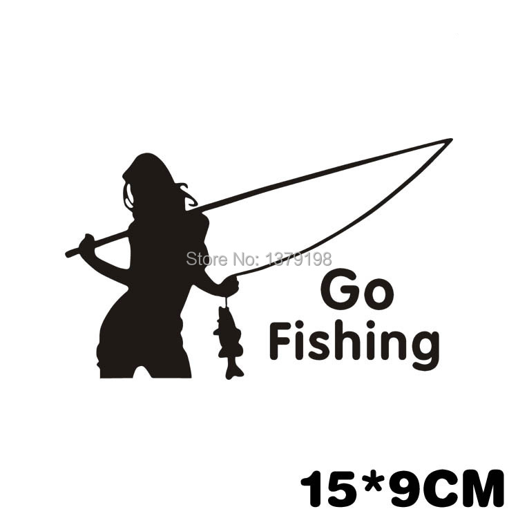 Popular Fishing Decals For GirlsBuy Cheap Fishing Decals For - Car sticker decal for girls