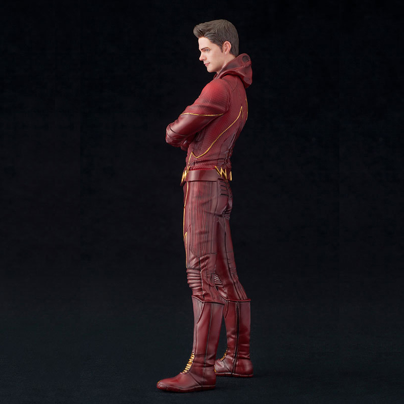 DC Comic Justice League The Flash Man Model 17.5CM PVC Material Joint Activities And Face Activities Action Figure Puppets