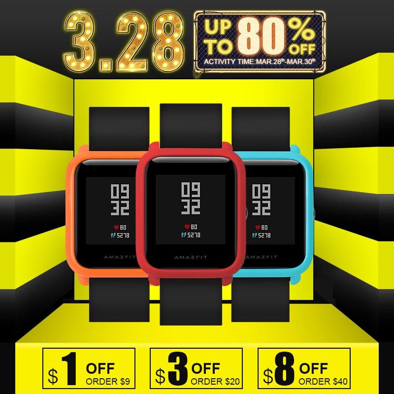 SIKAI Für Xiaomi Huami Amazfit Uhr Zubehör PC Fall Für Huami Amazfit Bip Bit Jugend Ausgabe (tempo Lite) Schutzhülle