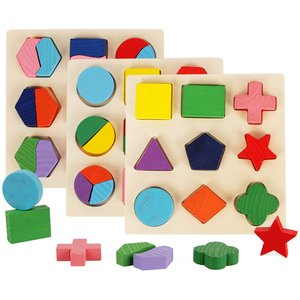Wooden Geometric Shapes Montes