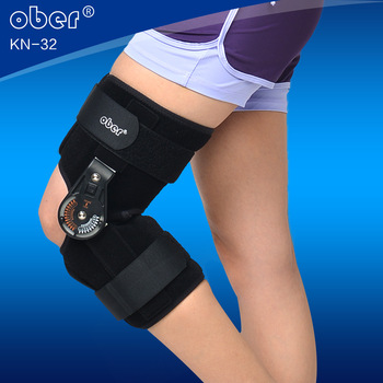 Ober adjustable knee brace fixation bracket fracture fixation rehabilitation knee orthosis