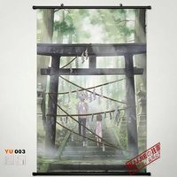 Anime Home Decor Poster Wall Scroll The light of the fireflies forest YU003