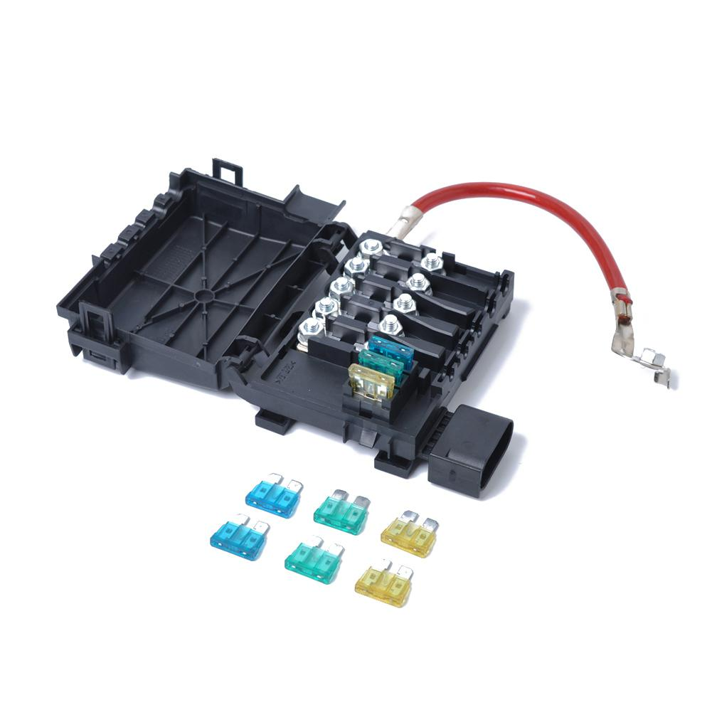 hight resolution of lumiparty fuse box battery terminal 1j0937550a for 1999 2004 vw jetta golf mk4 beetle five