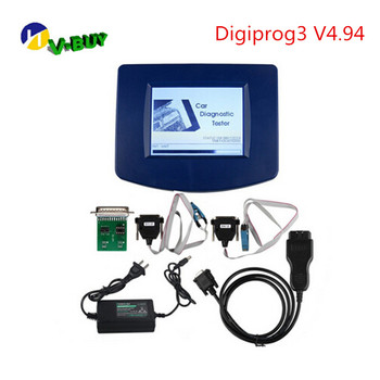 Newest V4.94 Digiprog3 obd version with OBD2 ST01 ST04 Cable Digiprog 3 Odometer Tool+ Full Software support multi-language