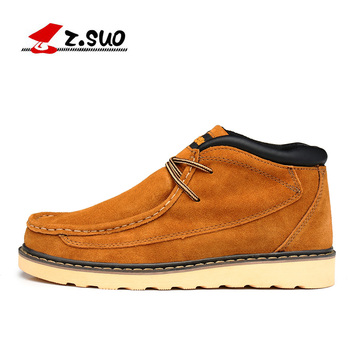 Z. Suo men 's shoes,plush leather shoes,both men and men leisure fashion shoes in fall and winter,zapatos de invierno zs020 1