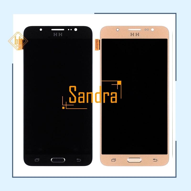 Nueva Promoción 1 unids nueva HH para Samsung J7 2016 J710 SM-J710F J710M J710H J710FN pantalla LCD + pantalla táctil LCD digitalizador Asamblea