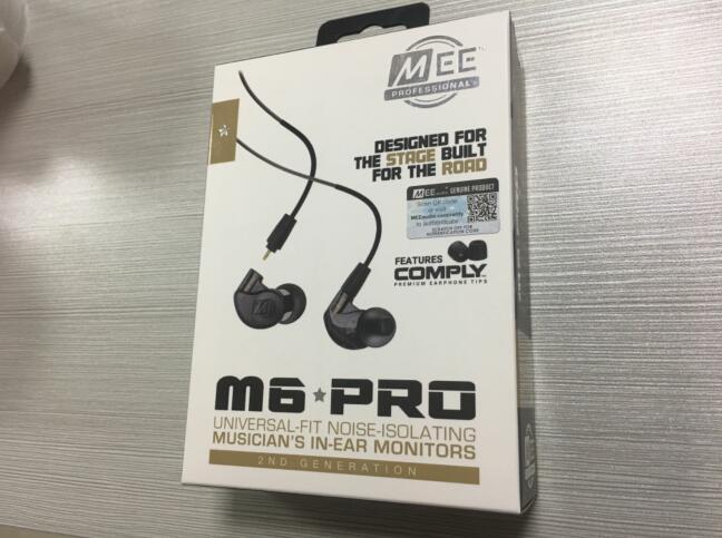 Наушники вкладыши MEE Audio M6 PRO 2nd с шумоподавлением 3,5 мм, Hi Fi наушники со съемными проводными кабелями, бесплатная доставка, 2018