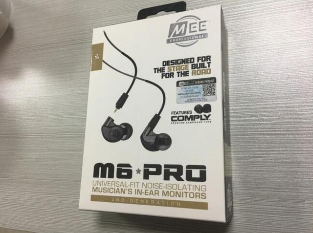 2018 MEE Audio M6 PRO 2ndตัดเสียงรบกวน3.5มม.HiFi In Ear Monitorsหูฟังที่ถอดออกได้สายแบบมีสายจัดส่งฟรี