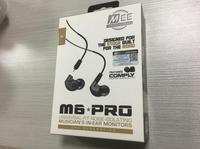 2018 MEE Audio M6 PRO 2nd Noise Canceling 3.5mm HiFi In Ear Monitors Earphones with Detachable Cables Wired Free Shipping