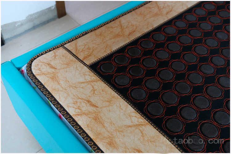 Estera de Salud de calefacción infrarroja almohadilla de Yoga Heat10-70 Celsius piedra Jade colchón turmalina almohadilla de calefacción tamaño 1,2*1,9 M para la venta