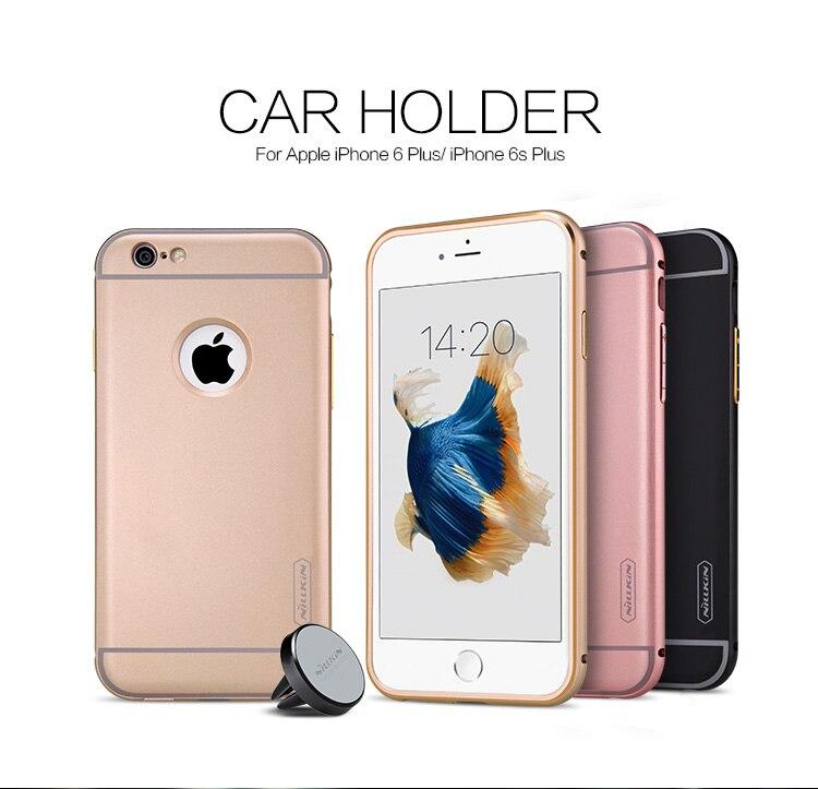 Оригинал Nillkin автомобильный держатель Щит Жесткий Чехол для iPhone 6 Plus 6 S плюс телефон чехол с воздуха вентиляционные Рамки Функция
