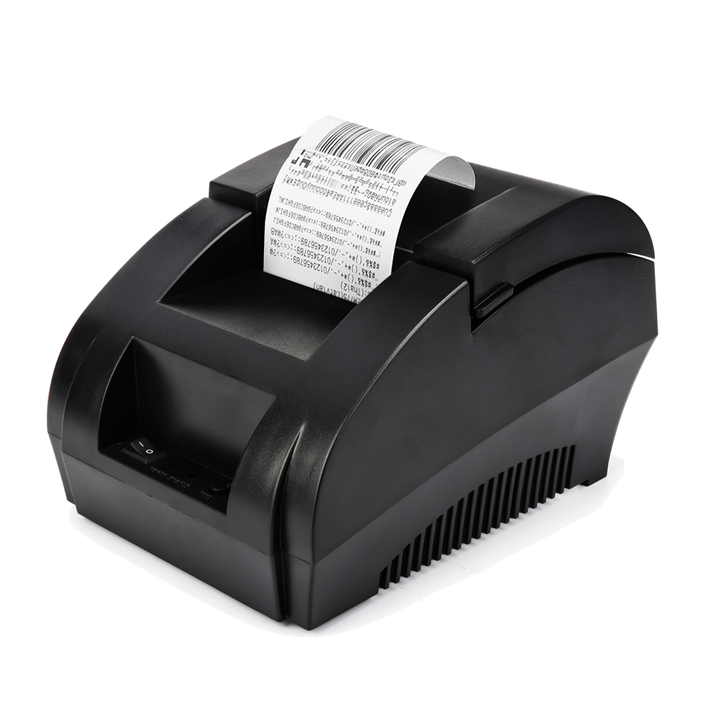 ZJiang 5890K 58mm thermal Receipt pirnter 203dpi USB Port low noise POS printer commercial retail POS systems ZJ-5890K