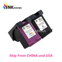 1set CH563WN CH564WN Ink Cartridge For HP 61XL For Hp 61 Ink Cartridge Deskjet 1050 2050