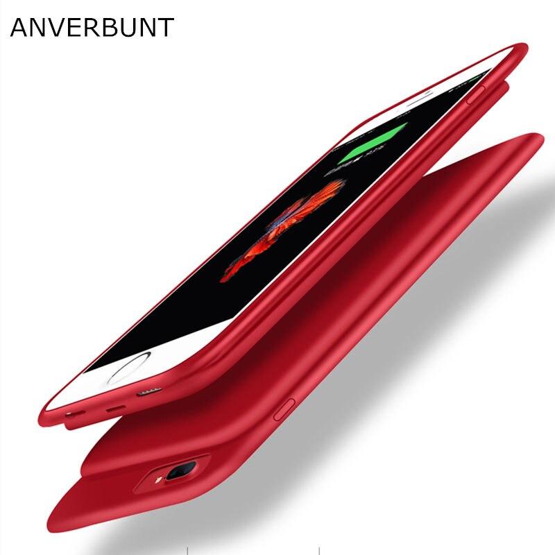 imágenes para Caso Del Cargador de batería para el iphone 6 6 s 7 Plus Original Anverbunt marca Banco de la Energía Caja de Batería Externa para el iphone 7 Más