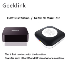 Geeklink Mini Host Signal Extension Smart WiFi Remote Control Work for Alexa Google Home Wireless Smart Home Automation 2pcs lot cdebyte e18 ms1 ipx spi smd 2 4ghz cc2530 wireless zigbee smart home automation module