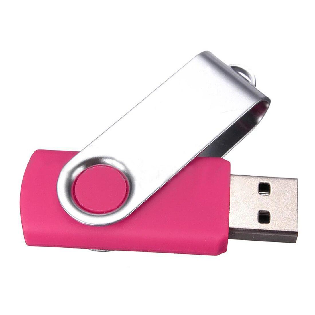 USB 2,0 флеш-память ручка флэш-накопитель Цвет: розовый 256 МБ
