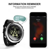 Hot Sale Smart Watch For LOKMAT MK26 Men's Sports 5ATM Waterproof Bluetooth Pedometer Message Reminder Digital Clock Smart Watch