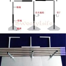 10 футов* 20 футов Свадебная стойка для свадебной церемонии из нержавеющей стали с расширяемыми стержнями