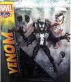 1 pcs 20 cm The Amazing Spiderman Venom Action Figure Marvel Vilão Transplante de Rosto Bonecas Modelo Coleção Crianças Brinquedos Presentes 1209