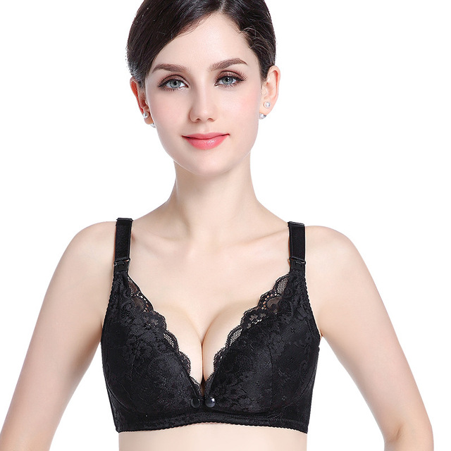 de64b29773256 Lace Breastfeeding Maternity Nursing Bras Cotton sleep bra For pregnant  women Pregnancy underwear Breast Feeding Bra clothing