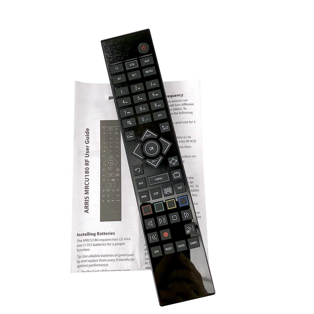 90% New for ARRIS TV REC VOD Remote Control Mrcu180 RF