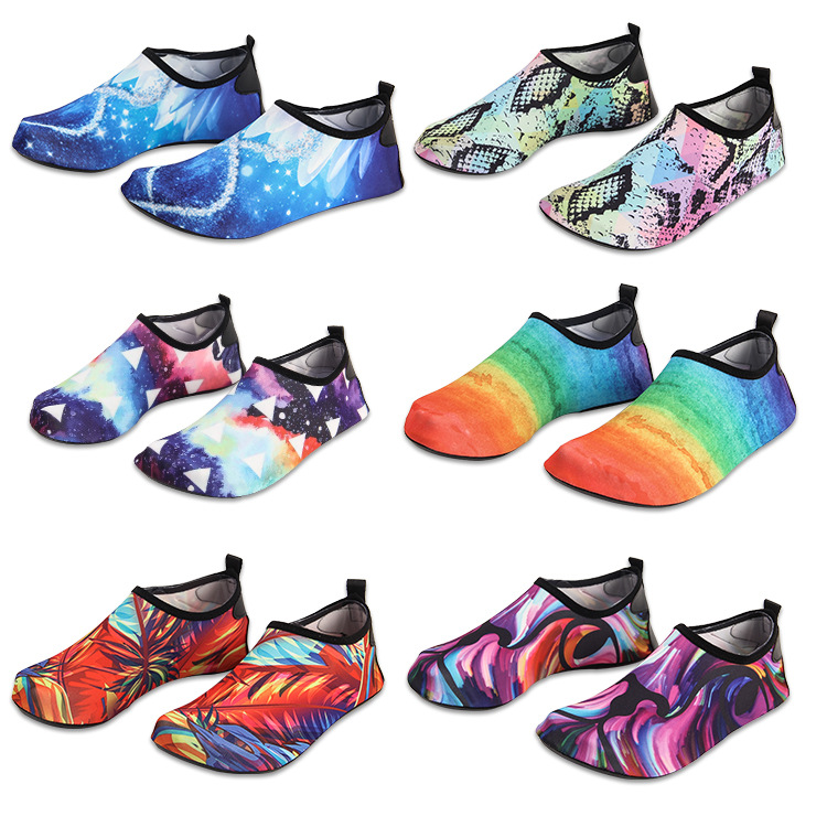Quick-Drying Beach Aqua Sandals Man And Women 2019 Unisex Seaside Water Shoes Out Door Fashion Sneakers Light Anti-Skid Shoes