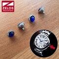 5.8mm/6.0mm/6.2mm/6.5mm Cristal de Safira relógio coroa para CARTIER Ballon Bleu assista aftermarket peças de reposição W69016Z4