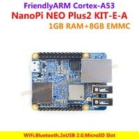 FriendlyARM NanoPi NEO Plus2 Development Board 1 5GHz 1GB DDR3 RAM 8GB EMMC With Heatsink