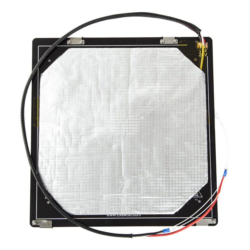 Factory Supply Creality 3D CR X Heated Bed Frame 310 310MM Hotbed For 3D Printer Parts