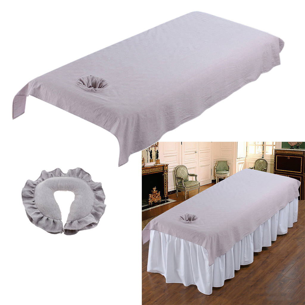 Beauty Salon Spa Massage Table Coverlet Comfort Polyester Bed Sheet Cradle Cover