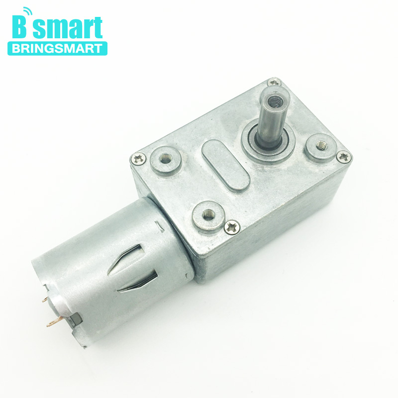 Wholesale 6v 12v 24v JGY-370 Worm Gear Motor Low Speed 12 Volt Gear Motor With High Torque Low Noisy Reverse For Diy ExperimentWholesale 6v 12v 24v JGY-370 Worm Gear Motor Low Speed 12 Volt Gear Motor With High Torque Low Noisy Reverse For Diy Experiment