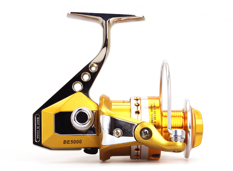 BE1000 to7000 Series Full Metal Spinning Reel Moulinet de pêche - Pêche - Photo 6