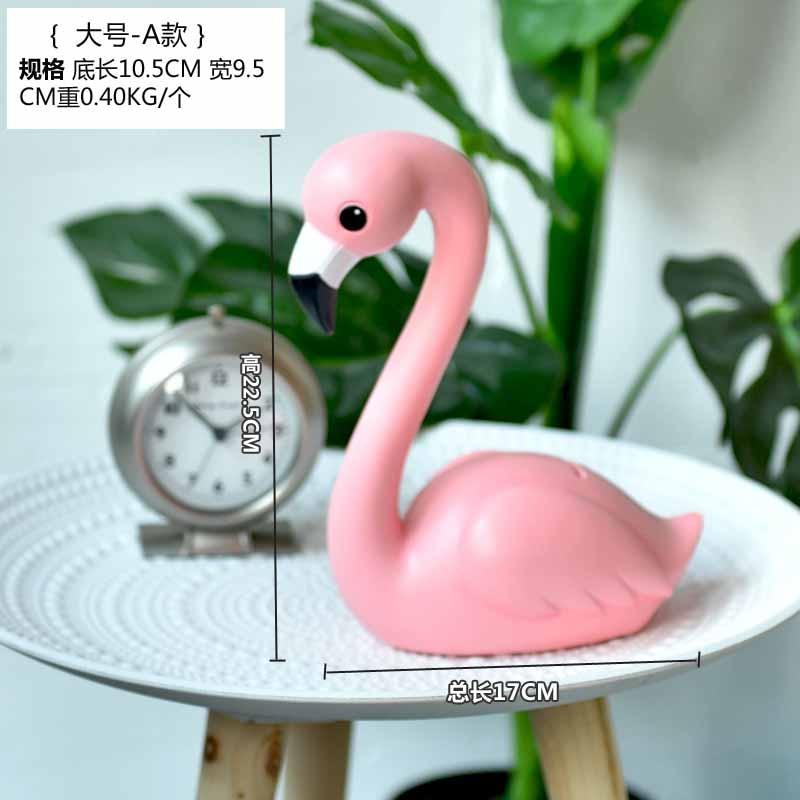 Creative cartoon Korean wind flamingo living room bedroom window ...