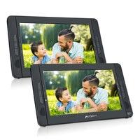 Pumpkin 10.1'' Portable Car Headrest DVD Player HD Dual Screen Car Monitor Headrest DVD Player With USB/SD/HDMI/FM Transmitter