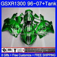 Обтекатель для SUZUKI Hayabusa GSXR 1300 глянцевый зеленый GSXR1300 96 97 98 99 00 01 26HM. 15 GSX R1300 1996 1997 1998 1999 2000 2001