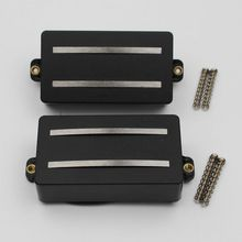 1 סט מאלניקו מסילות סליל כפול איסוף החלפת חלקי 6 מחרוזת גיטרה חשמלית או מכשירי דיוק (GDR שחור)