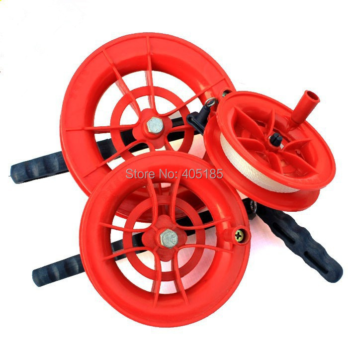 New Fashion Free Shipping Kite Flying Tools Wheel Kite Winder /handle With Line 12cm Diameter Outdoor Fun & Sports