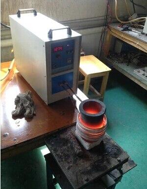 все цены на High Frequency 220V 15KW 2 kg Gold Metal Induction Melting Furnacer melt machine онлайн