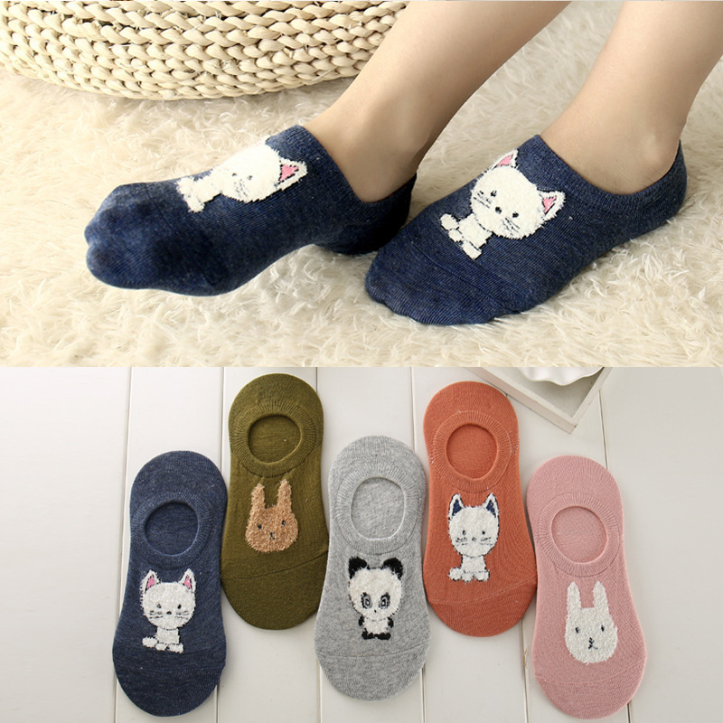 Winter Warm Thick Wool Women Cute Funny Animal Christmas Cotton Socks Female Fashion Casual Wool Knit Sock 1pair=2pcs ws132