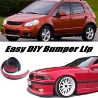 Bumper Lip Deflector Lips For Suzuki SX4 SX 4 SX 4 Neo Baleno Front Spoiler Skirt For Car Tuning View / Body Kit / Strip