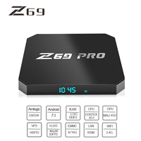 Z69 Pro TV Box Smart Android 7 1 TV Box MINI 2G DDRS 16G 4K HD