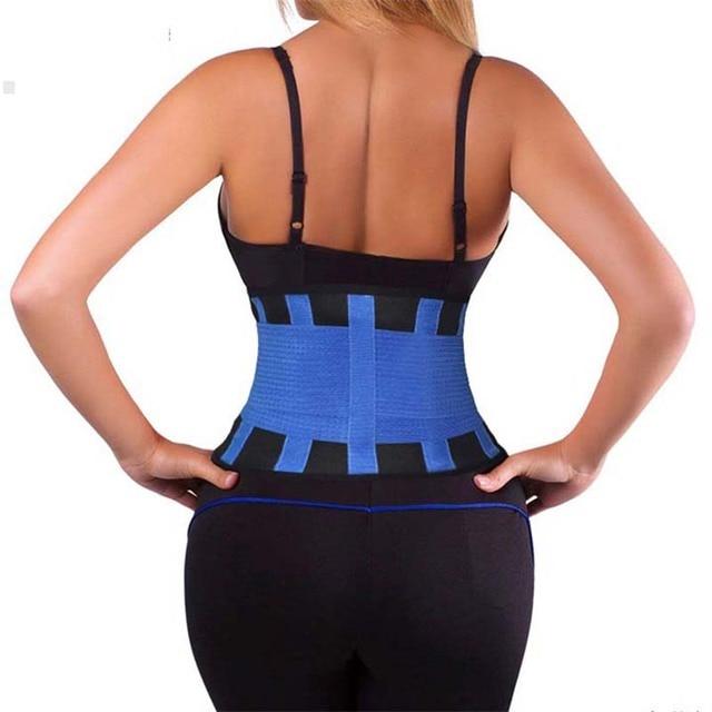Posture Back Support Brace Belt Women Men Lumbar Shaper Belly Trainning Corset S M L XL XXL Free Shipping Y123