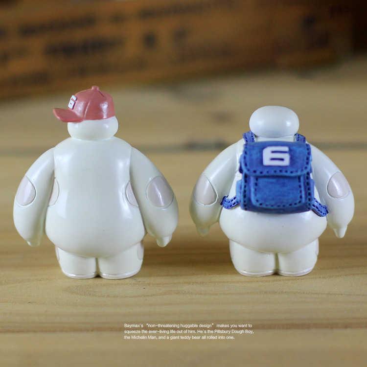 Accessori del fumetto di Plastica Baymax Robot Scuotere La Testa Figura Ornamenti Auto Auto Decorazioni Interne Grande Hero Giocattoli Bambola Ornamento
