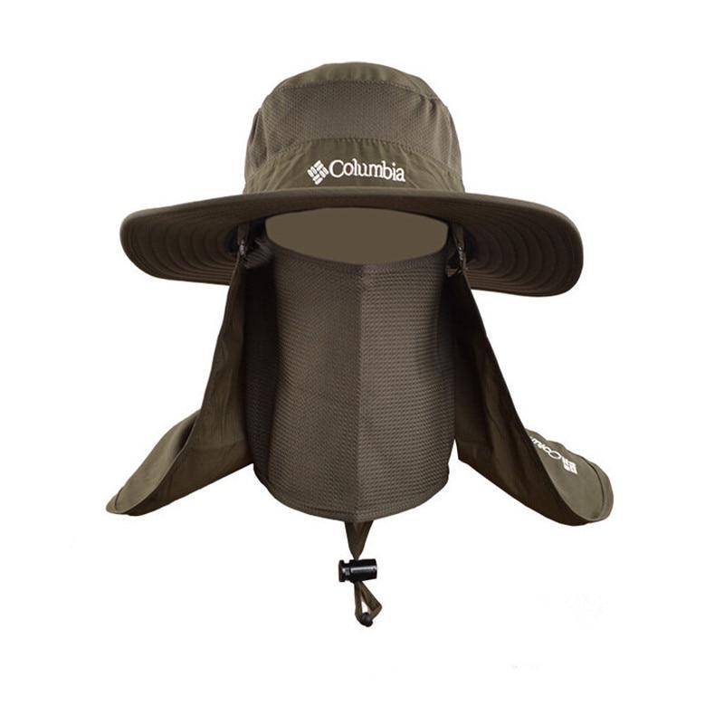 Outdoor Men Women Brim Fishing Summer Sun Cap Bucket Hat