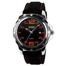 Hombre de moda reloj ocasional, hombres relojes deportivos, relojes de los hombres relojes militares, mans correa de silicona de cuarzo reloj de pulsera, relogio masculino