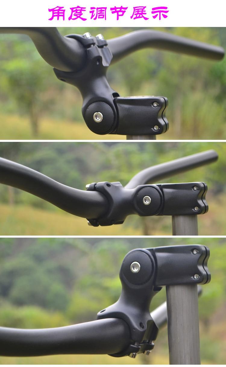 Mi Xim Aluminum Alloy Mtb Bike Stem Adjustable 60 Degree Angle