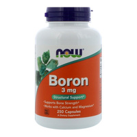 Free Shipping Now Boron 3 mg supports bone strength 250 pcs