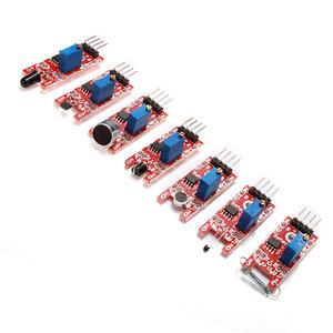 Image 3 - (Touch Module Voor Gratis Geschenk) 37 In 1 Sensor Kits Voor Diy Hoge Kwaliteit Module Board Set Kit Voor Arduino Kartonnen Doos Pakket