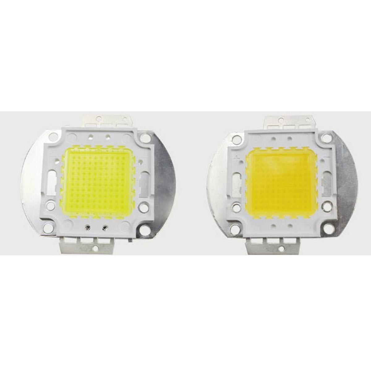 Chaud froid 10 W 20W 30W puce LED DC 12 V 36 V COB lampe à LED Diodes bricolage 50 W 100 W Schijnwerper lampe de projecteur