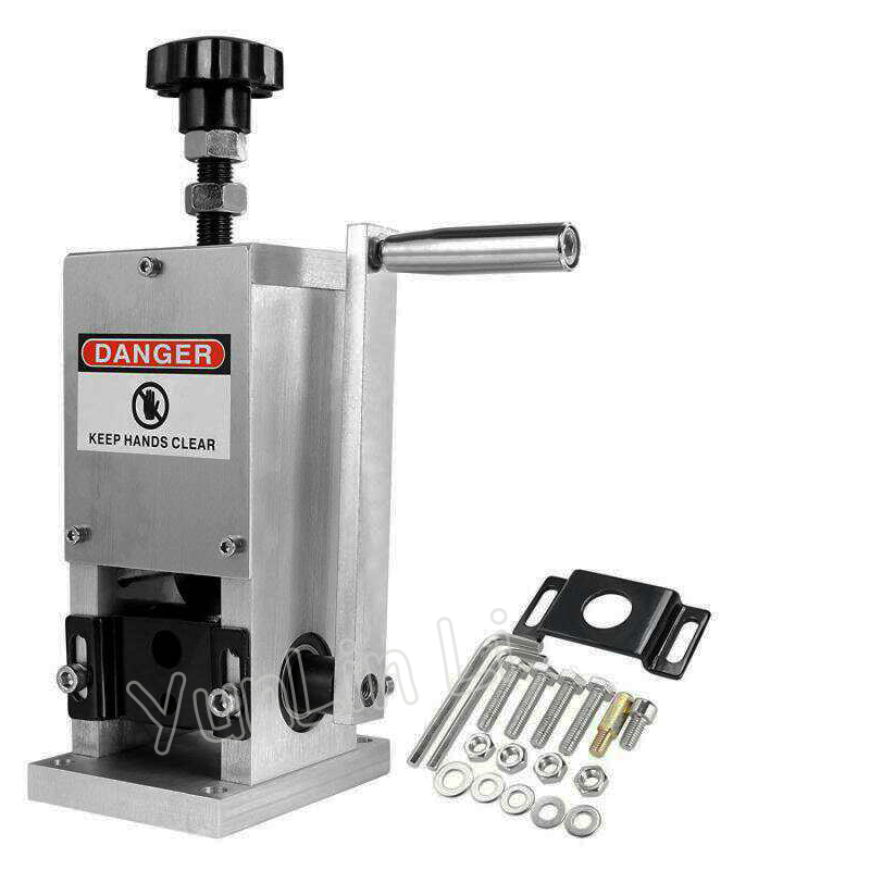 Universal Manual de Friso do Cabo E Máquina de Descascar Para O Fio de Metal Reciclar Fio de Cabo Stripper Stripping DL-S025